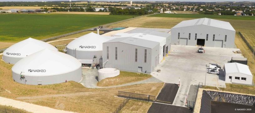 Installation biométhane