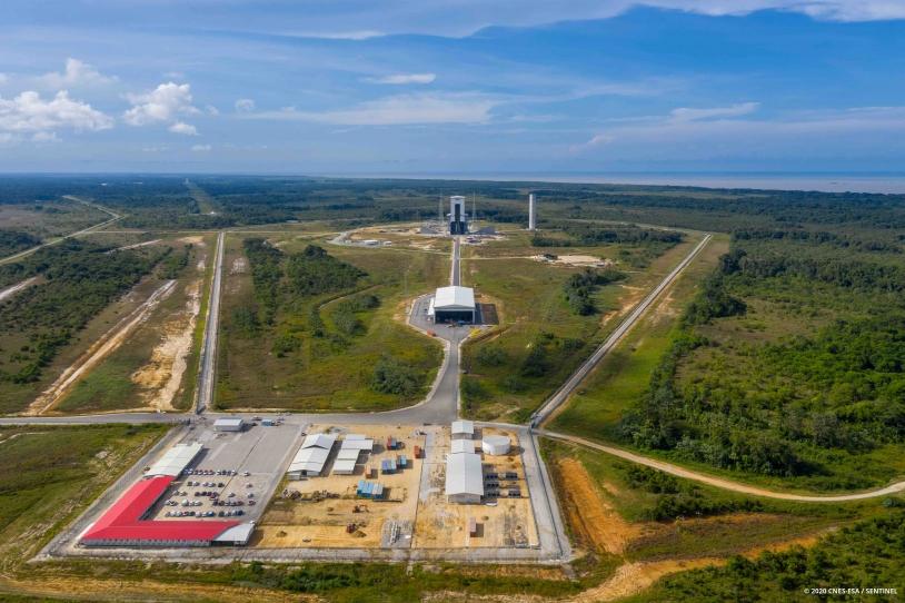 Zone de lancement d'Ariane 6